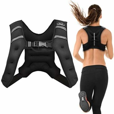 Aduro Sport Weighted Vest Workout Equipment, 4lbs/6lbs/12lbs/20lbs/25lbs Body Weight Vest for Men, Women, Kids (6 Pounds (2.72 KG))